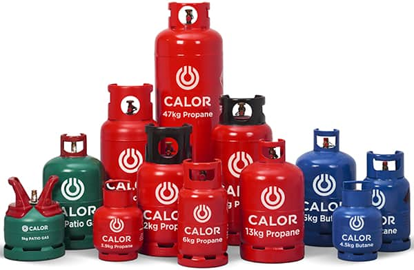 Picture of Calor gas bottles