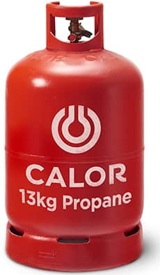 13kg propane gas bottle
